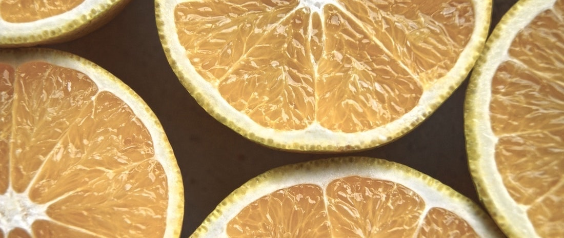 Lemons - not a relaxation technique but it is grounding
